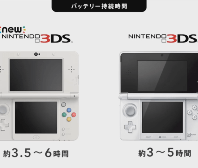 Heres How That Battery Life Stacks Up Against The Old Ds Which Has A Battery Life Of  Hours
