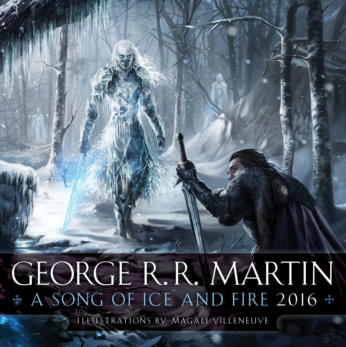 Cover of ASOIAF 2016 Calendar