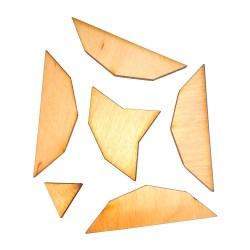 Головоломка деревянная Двенадцатиугольник