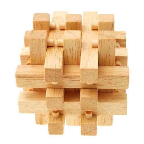 Деревянная головоломка 18 брусков