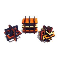 Набор деревянных головоломок Профи