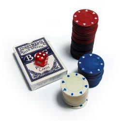 Покерный набор малый 48 фишек