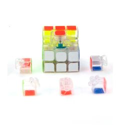 Кубик Рубика 3x3 MoYu GuanLong прозрачный