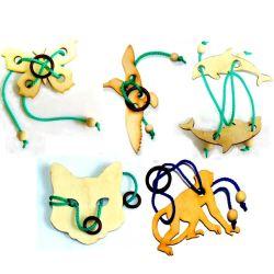 Набор головоломок «Животные»