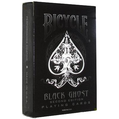 Карты Bicycle Ghost Black