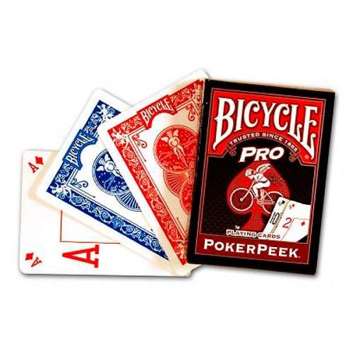 Покерные карты Bicycle Poker Peek Pro