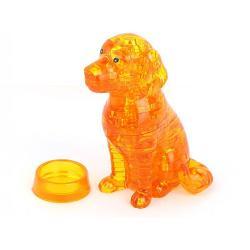 3D Crystal Puzzle «Собака»
