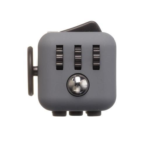 Антистрессовый кубик Fidget Cube Серочёрный