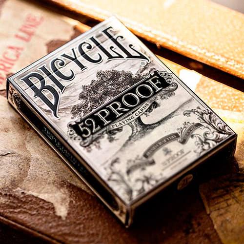 Дизайнерские карты Bicycle 52 Proof