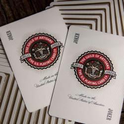 Покерные карты White Artisans (Theory11)