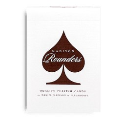 Покерные карты Madison Rounders Brown