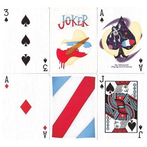 Покерные карты Rockets Ellusionist