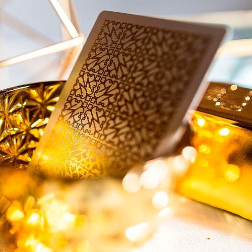 Покерные карты Gold Madison Revolvers