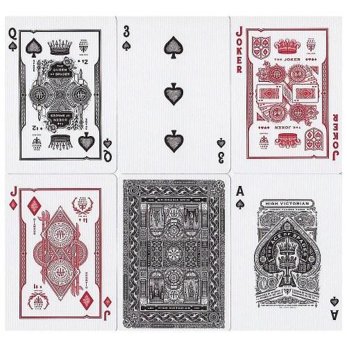 Покерные карты High Victorian theory11