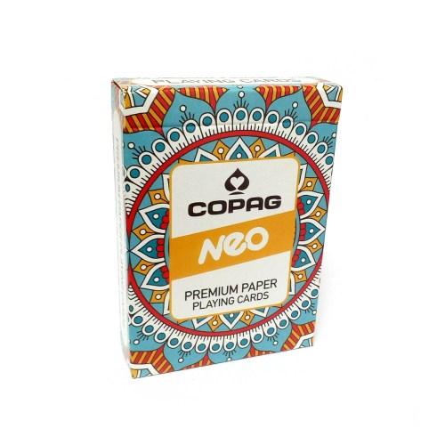 Карты покерные Copag Neo Deck Mandala оранжевые