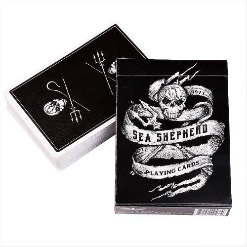 Покерные карты Sea Shepherd