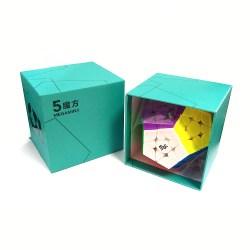 Мегаминкс 3x3 YJ MoYu MGC 5 Megaminx Цветной