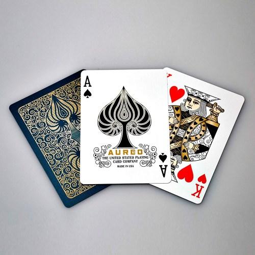 Покерные карты Bicycle Aureo