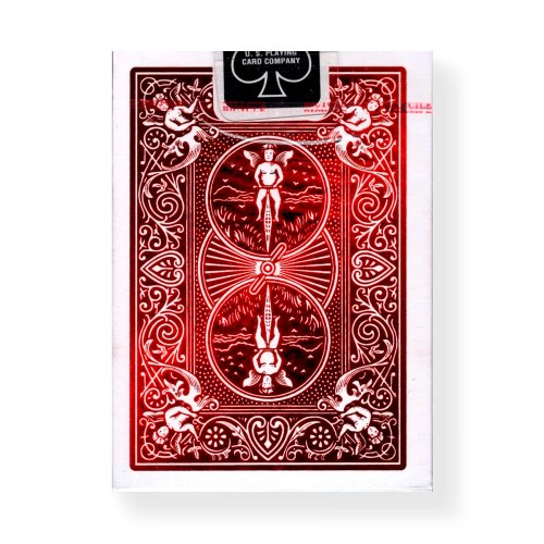 Покерные карты Bicycle Foil Back Crimson