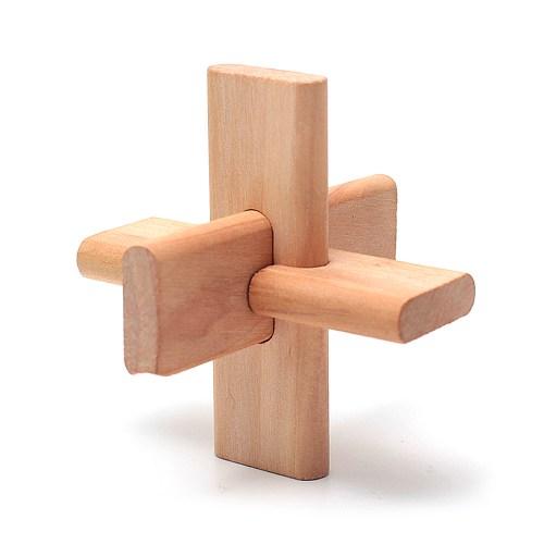 Деревянная головоломка Крест ОСС
