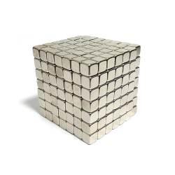 Тетракуб TetraCube Никель 7x7x7, 343 кубика