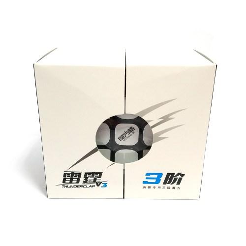Кубик Рубика 3x3 QiYi Thunderclap v3 Чёрный