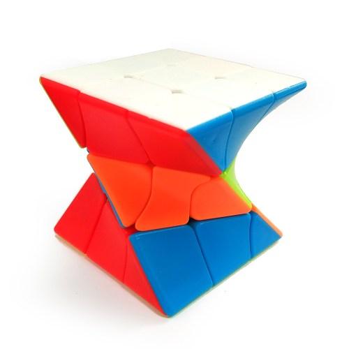 Скрученный кубик Рубика 3x3 Ju Xing Цветной