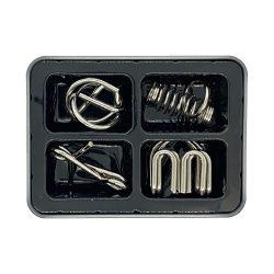 Набор IQ-Metall из 4 металлических головоломок