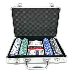 Покерный набор 200 фишек Премиум