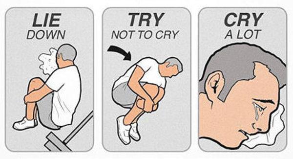 Cry Harder Crying Face Meme Generator
