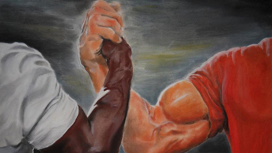 Epic Handshake Know Your Meme