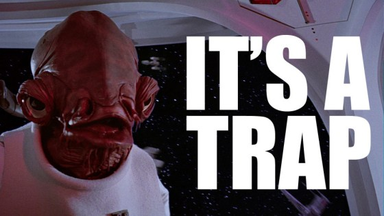 Image result for it's a trap star wars
