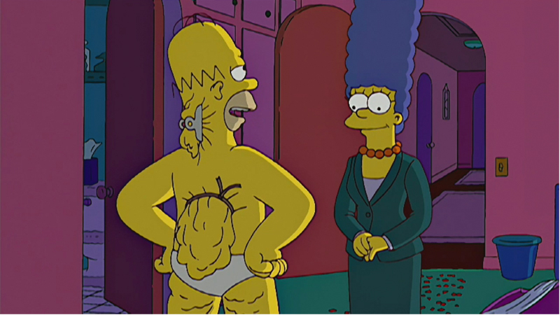 Homer Simpson S Back Fat Know Your Meme