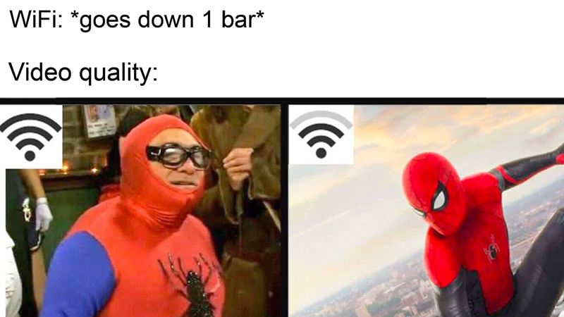Wifi Drops One Bar Know Your Meme