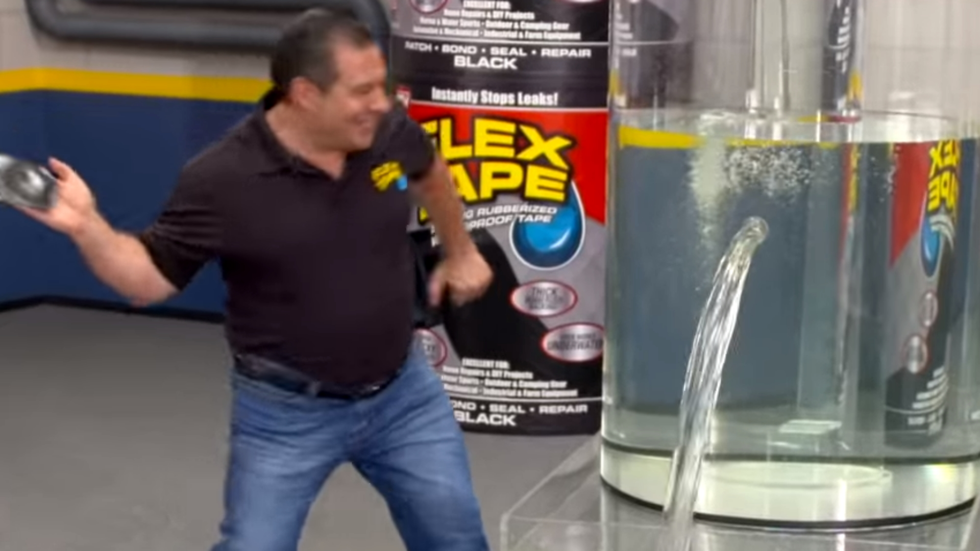 Phil Swift Slaps On Flex Tape Know Your Meme