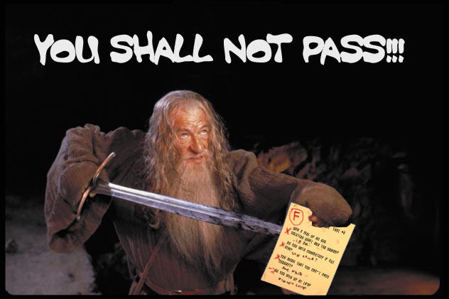Epic Gandalf Meme You Shall Not Pass Meme Youtube Gandalf