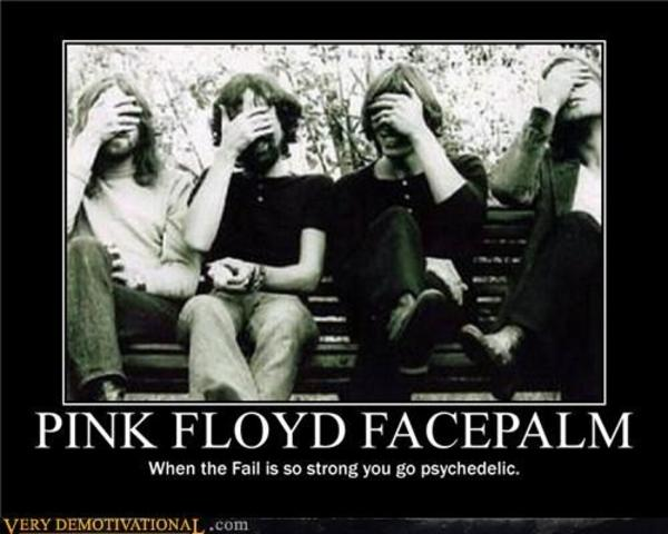 Pink Floyd Facepalm Facepalm Know Your Meme