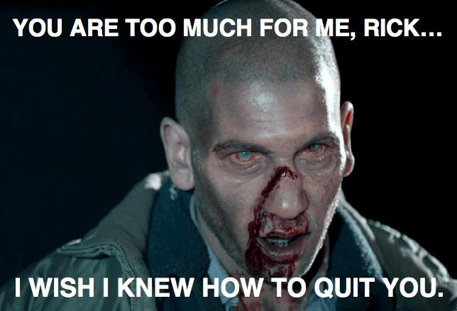 Zombie Brokeback Shane The Walking Dead Know Your Meme