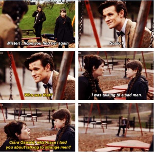 Fluffylord Jennacolemanfans I M Clara This Is The Doctor Sir What