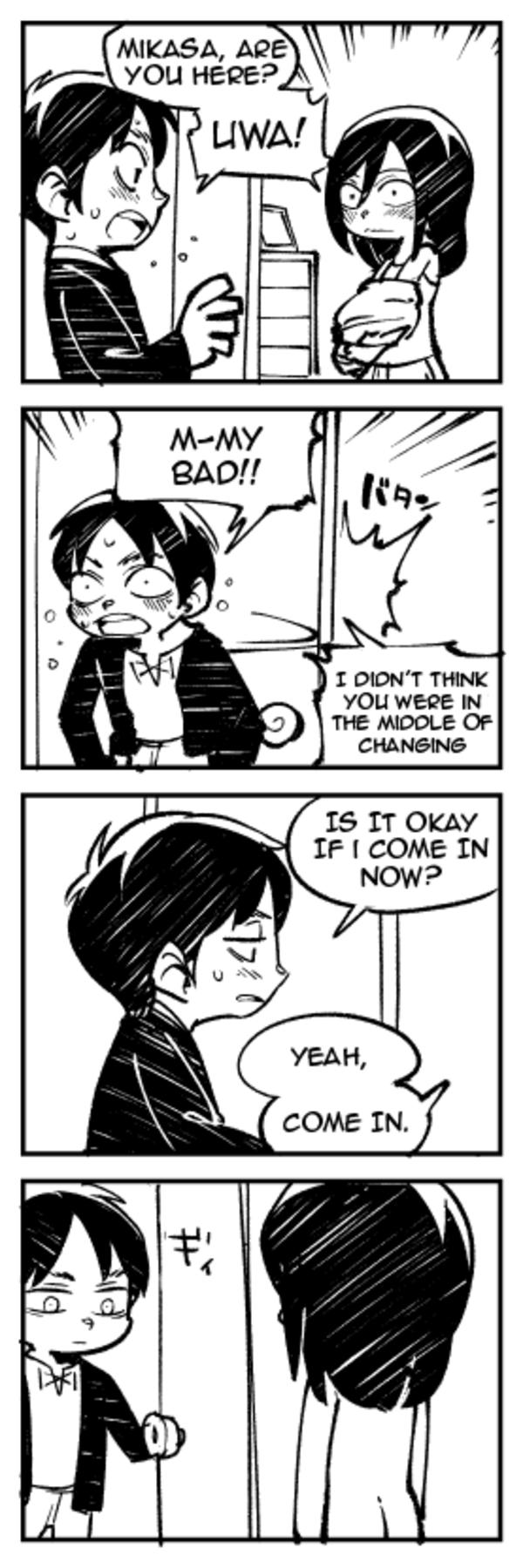 25 Best Eren And Mikasa Memes Are Memes Titan Armin Memes