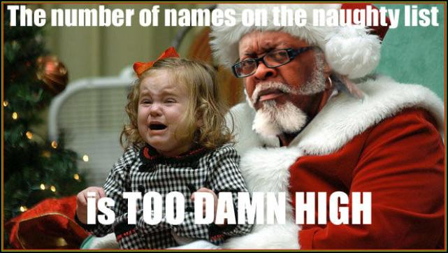 dirty christmas meme