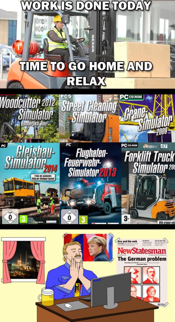 German Gaming Video Game Logic Know Your Meme