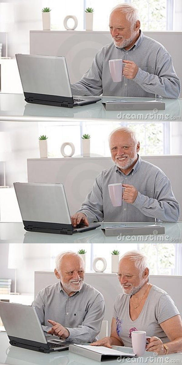 Image 838735 Hide The Pain Harold Know Your Meme