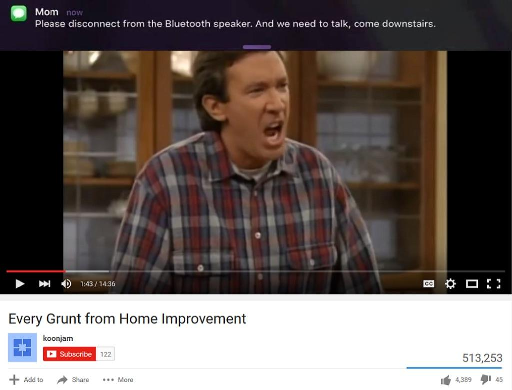 Tim Allen Please Disconnect The Bluetooth Speaker Know Your Meme