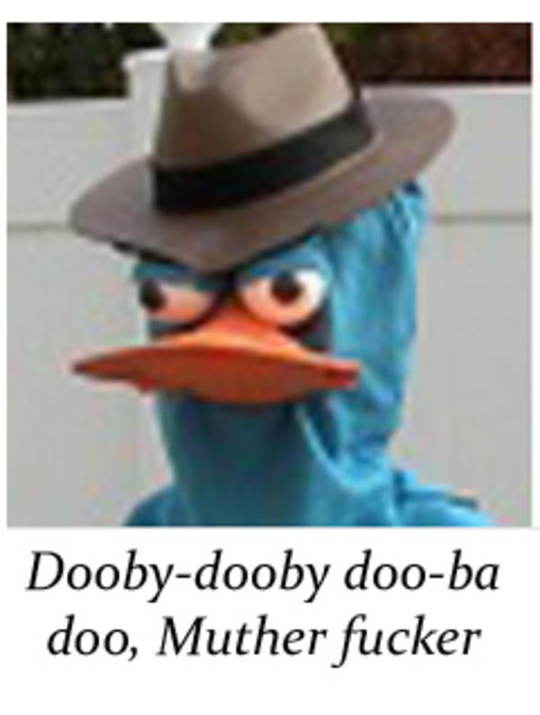 Perry The Dooby Doob Ah Phineas And Ferb Know Your Meme