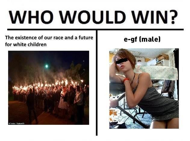 Alt Right V E Trap Who Would Win Know Your Meme