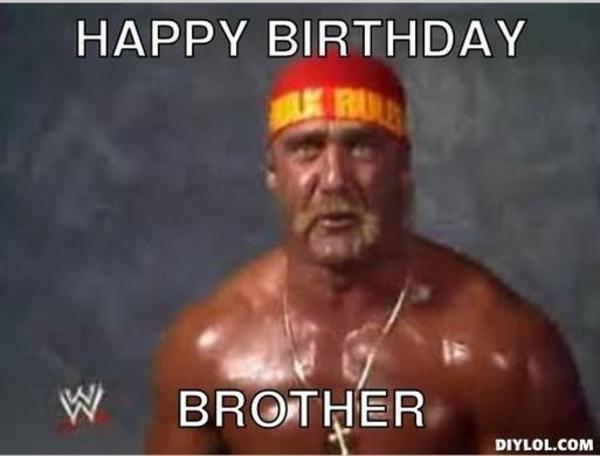 Thanks Hogan Happy Birthday Memes Know Your Meme