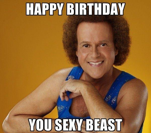 Richard Simmons Happy Birthday Memes Know Your Meme