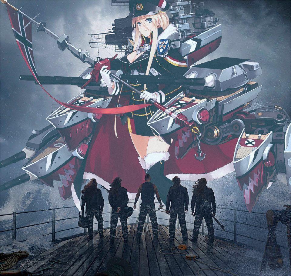 Bismarck Receiving First Torpedo Rare Photos Chronicle Race To