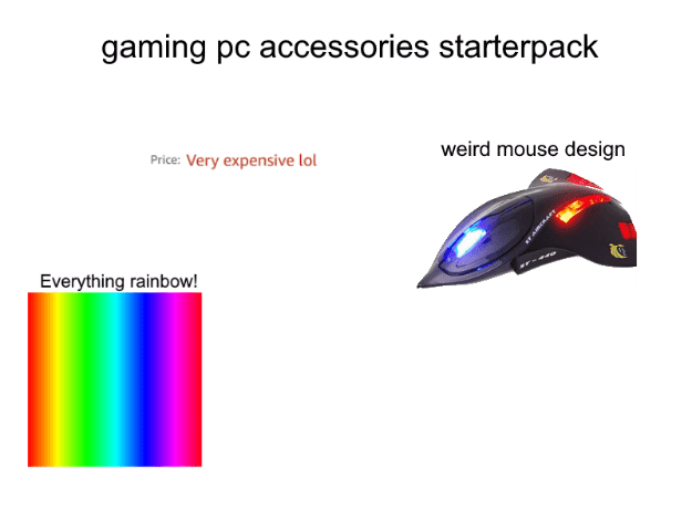 Gaming Pc Accessories Starterpack R Starterpacks Starter